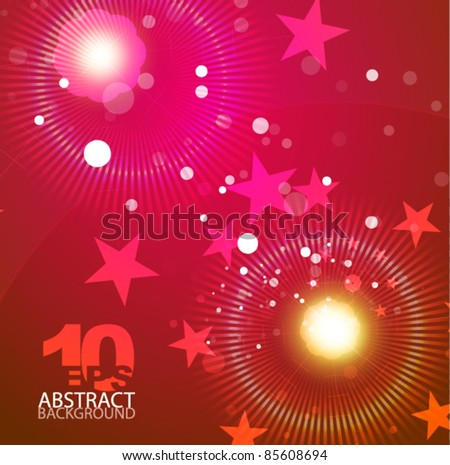 Christmas shiny vector abstract background - stock vector