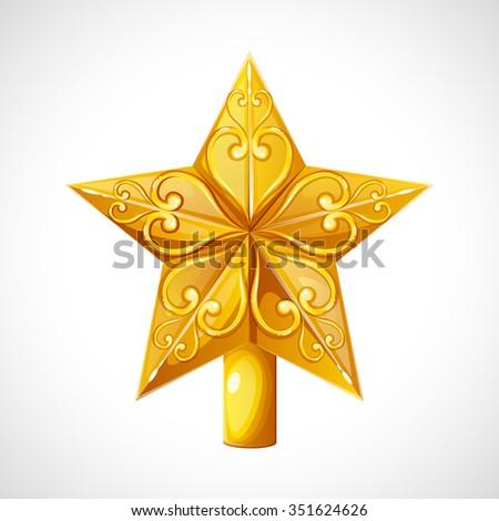 christmas star tree topper christmas topper for christmas tree the star on the christmas - Christmas Star Tree Topper