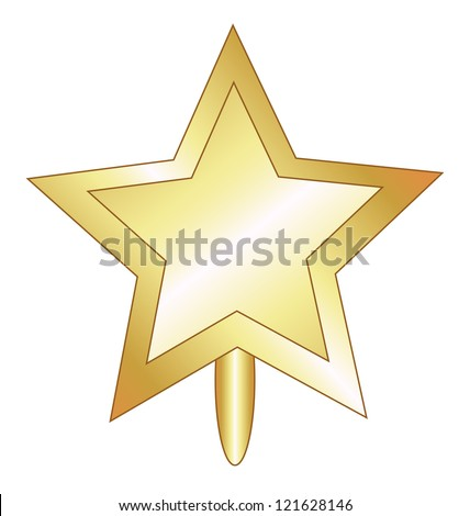 Christmas Star Vector Illustration