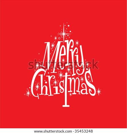 Christmas Tree Design - stock vector