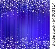 Christmas vector abstract sparkle background wuth stars - stock vector