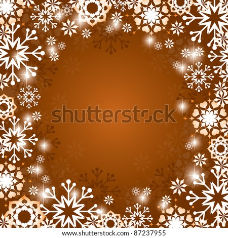 Christmas Vector Background. Abstract Illustration in Eps10 Format.