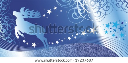 christmas vector background for design