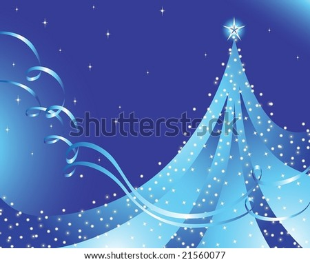 Christmas vector illustration. EPS8, all parts closed, possibility to edit - stock vector