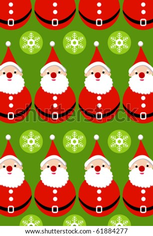 Christmas wallpaper - stock vector