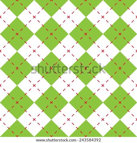 Christmas wrapping paper - seamless vector illustration - stock vector