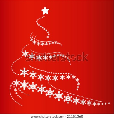 Christmastree - stock vector