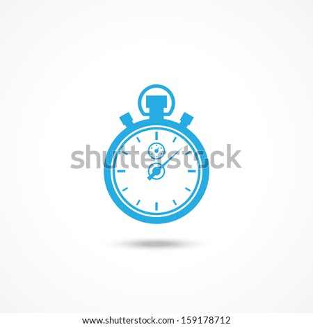 Chronometer icon - stock vector