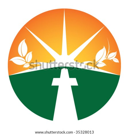 Church Symbol - stock vector