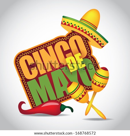 Cinco De Mayo icon/design element - stock vector