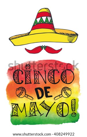 Cinco de mayo lettering greeting cardmexico stock vector 408249922 cinco de mayo lettering greeting cardxico vectordoodle handwritten wordstitles calligraphy m4hsunfo Image collections