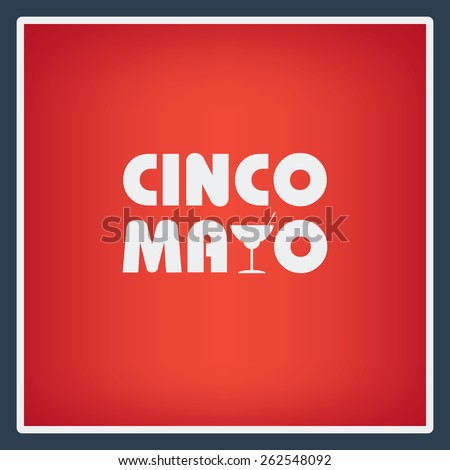 Cinco de Mayo posters backgrounds. Fiesta flyer in vintage style. Mexican holiday festival. Eps10 vector illustration - stock vector