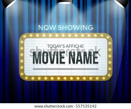 Amazoncom movie theater sign