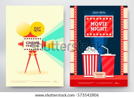 Movie Poster Images RoyaltyFree Images Vectors – Movie Flyer