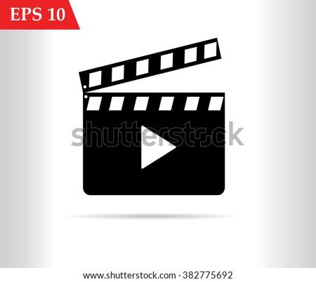 Cinema icon.Movie icon eps10, Movie icon vector, Movie icon eps, Movie icon jpg, Movie icon path, Movie icon flat, Movie icon app, Movie icon web, Movie icon art, Movie icon, Movie icon AI, Movie icon - stock vector