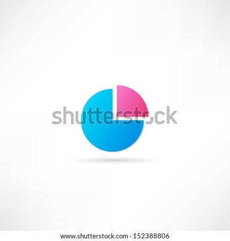 circle business plan - stock vector