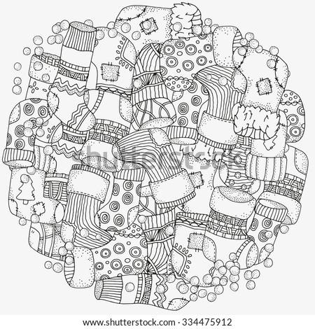 Circle Mandala Stock Vectors Amp Vector Clip Art Shutterstock