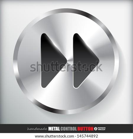 Forward Button Image Metal Fast Forward Button