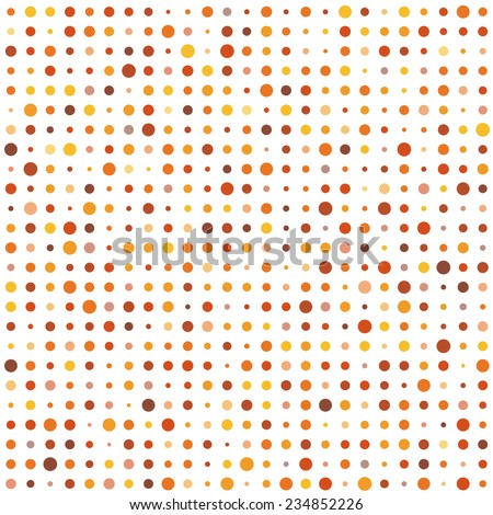 Circle pastel background - stock vector