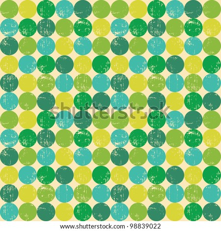 Circle seamless pattern.Seamless pattern can be used for wallpaper, pattern fills, web page background,surface textures. Gorgeous seamless  background - stock vector