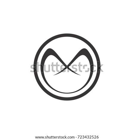 figure emblem fish icon vector illustration stock vector