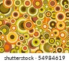 Circles Background 4 - stock vector