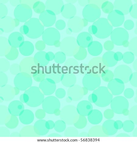 Circles pattern in fashion trend colors - stock vector