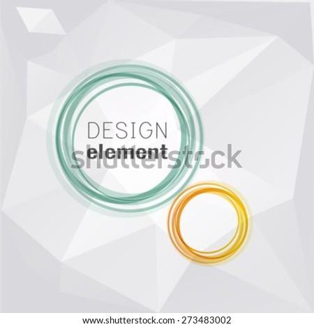 Circles Vector illustration - stock vector