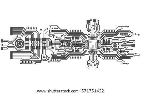 circuit board template