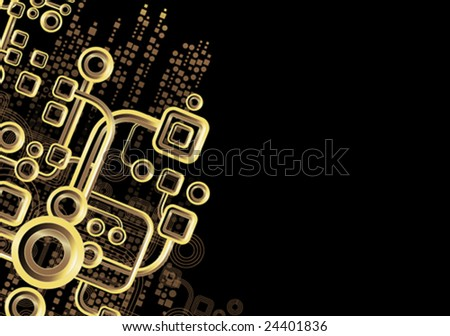 Circuits - stock vector