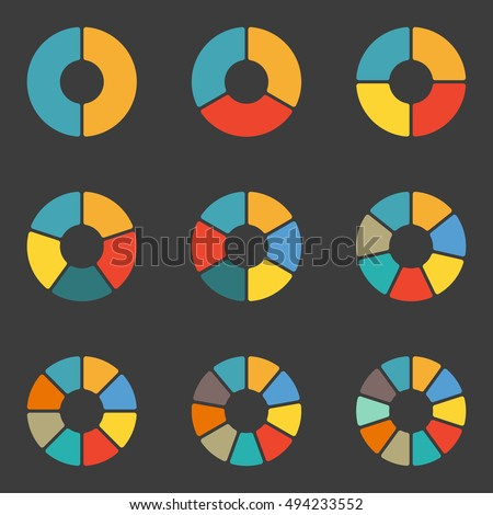 2 Color Pie Chart Stock Photos, Royalty-Free Images & Vectors ...