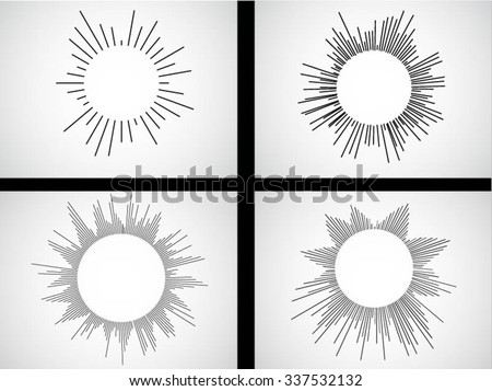 Circular Line Vector Equalizer . Abstract Music Wave Sound Background . Blue Musical Bar Showing Volume . Design Element , Music Logo , Icon You Can use in Club, Radio, Concert , Party. - stock vector