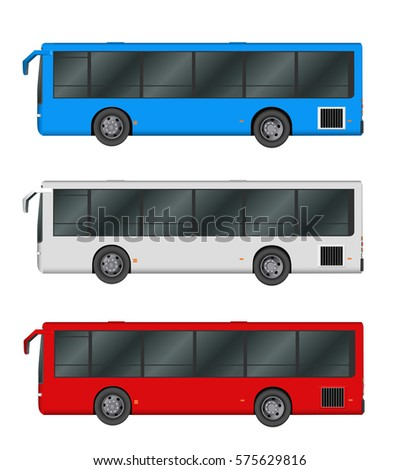 red bus stock vector 13191979 shutterstock
