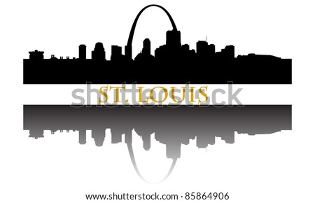 City of St. Louis high-rise buildings skyline