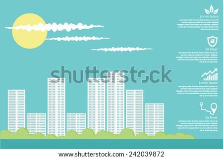 City Scape - stock vector