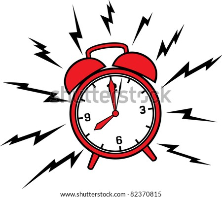 classic alarm clock stock vector 82370815 shutterstock rh shutterstock com Time Clock Clip Art Clock Face Clip Art Digital