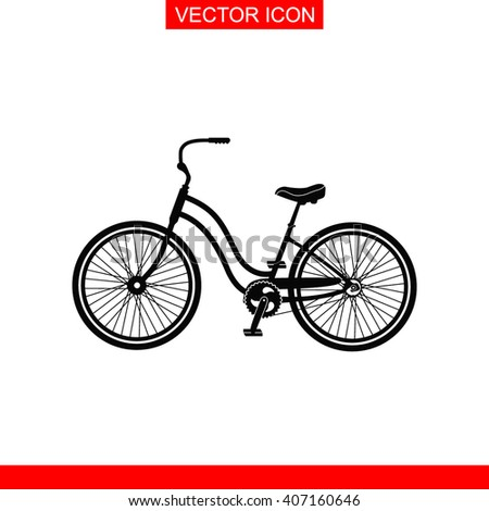 Classic bicycle Icon. Classic bicycle Vector. Classic bicycle Icon Button. Classic bicycle Picture. Classic bicycle Image. Classic bicycle Illustration. Classic bicycle JPEG. Classic bicycle Icon EPS. - stock vector