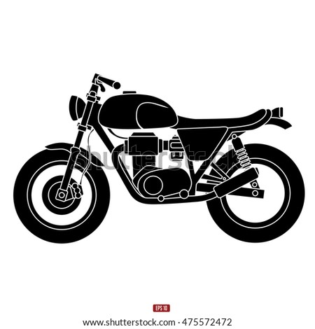 classic motorcycle vector icon stock photo photo vector rh shutterstock com motorcycle vector silhouette motorcycle vector