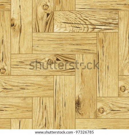Classic Wooden Oak Parquet Flooring