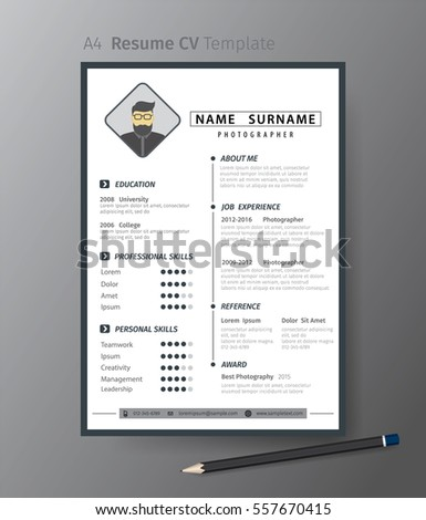 template for resume