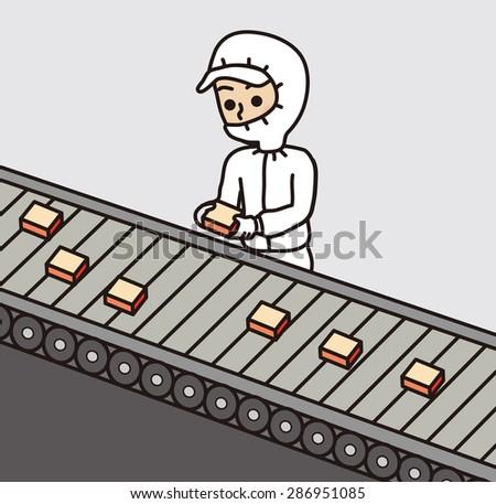 Clean Room Factory Work Stock Vector 286951085 Shutterstock