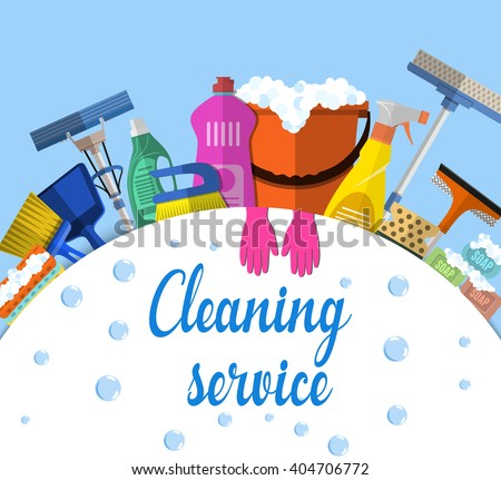 Cleaning Service Stock Vectors, Images & Vector Art ...