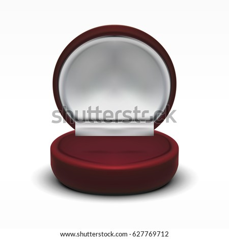 Jewelry box stock images royalty free images vectors for Red velvet jewelry gift boxes
