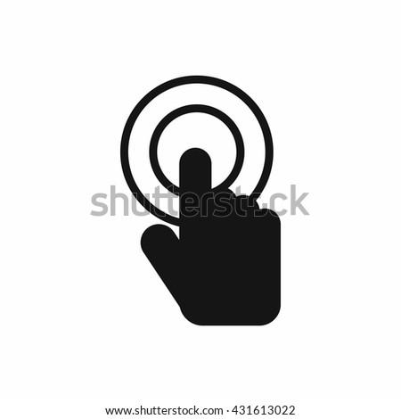 Click icon - stock vector