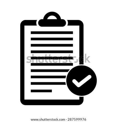 Clipboard Documents - Document / Text / Content / Checklist etc. - stock vector
