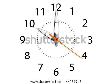 Clock - stock vector