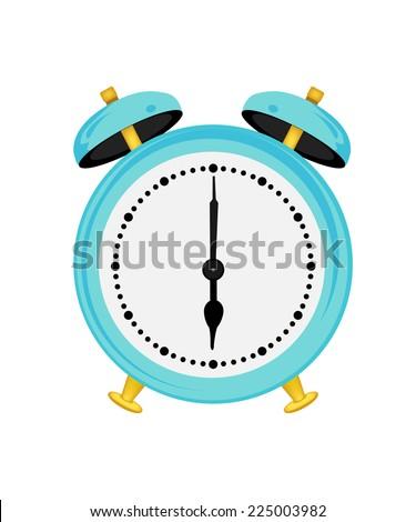 Clock,  alarm,  alarm clock isolated,  alarm clock icon,  wake up,  sleep  - stock vector