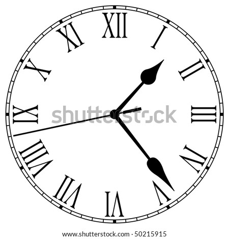 Clock-Face - stock vector