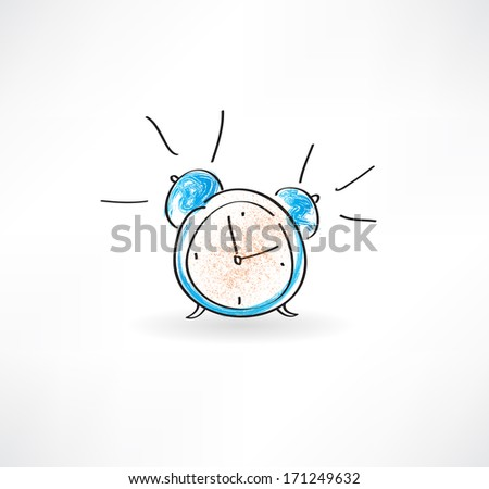 Clock icon. - stock vector