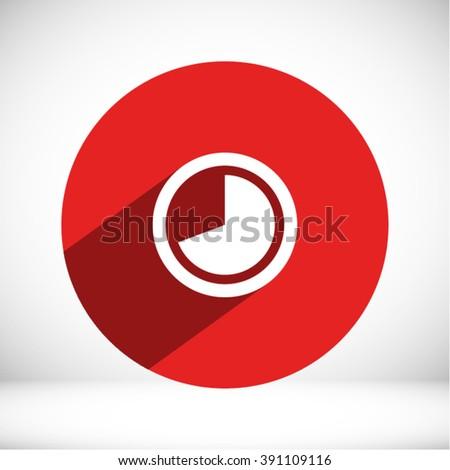Clock Icon, clock icon flat, clock icon picture, clock icon vector, clock icon EPS10, clock icon graphic, clock icon object, clock icon JPEG, clock icon picture, clock icon image, clock icon drawing - stock vector